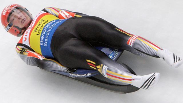 Luge - Hufner wins Sochi test event