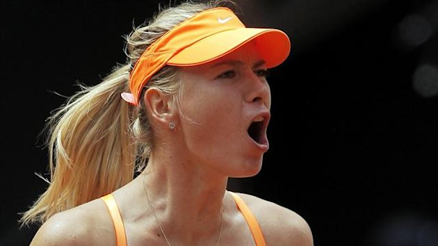 Maria Sharapova - Madrid Open 2013 (AP/LaPresse)