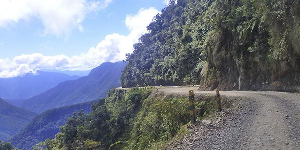 World's scariest roads - North Yungas Road, Bolivia