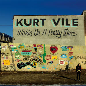 "This CD cover image released by Matador Records shows ""Wakin on a Pretty Daze,"" by Kurt Vile. (AP Photo/Matador Records)"