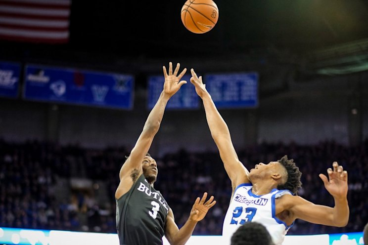 Creighton led double figures over Butler the entire second half (Getty Images)