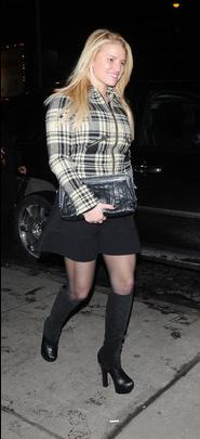 2. Jessica Simpson's Plaid & Boots