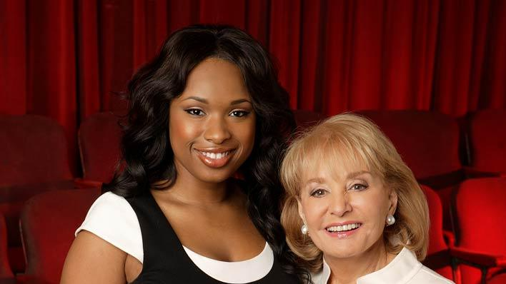 Jennifer Hudson and Barbara Walters on Barbara Walters Presents:  The 10 Most Fascinating People of 2007.