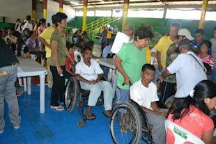 Umingan PWD registrants