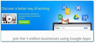 6 Simple Web Apps that Make Business Easier image Google apps