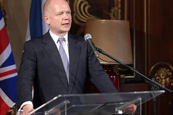 William Hague se reunió con Kerry y hablaron sobre diversos temas de la agenda bilateral.