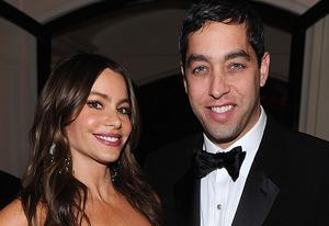 Sofia Vergara and Nick Loeb | Photo Credits: Dimitrios Kambouris/WireImage