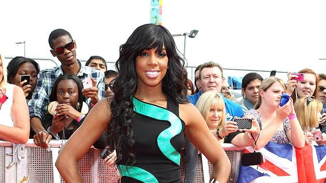 Kelly Rowland TheX Factor Press Launch