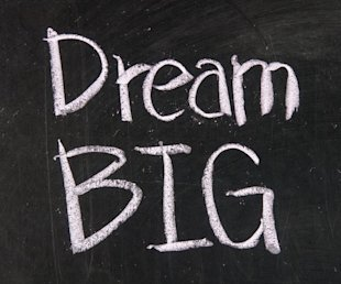 Entrepreneurs Quit Trying to Monetize Your Business, Monetize Your Passion! image photodune 3359967 dream big xs