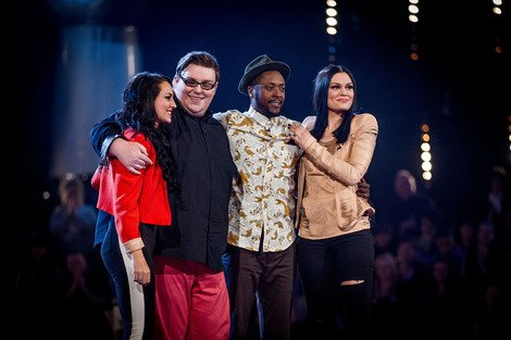 The Voice UK's Team Jessie