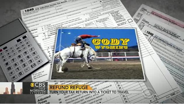 Turn your tax return into a travel ticket