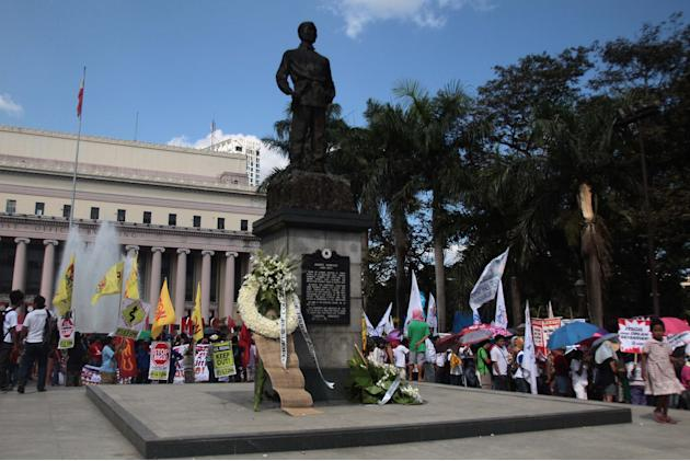 PH-U.S. ties hit in Bonifacio Day protests