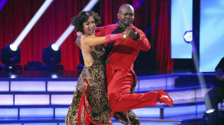 Cheryl Burke and Emmitt Smith (10/1/12)