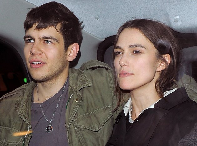 Keira Knightley, James Righton, Klaxons, engaged