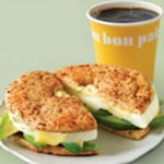 Au Bon Pain Egg Whites and Cheddar Breakfast Sandwich