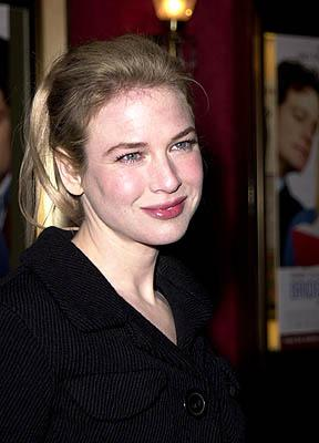 Renee Zellweger at the New York premiere of Miramax's Bridget Jones's Diary