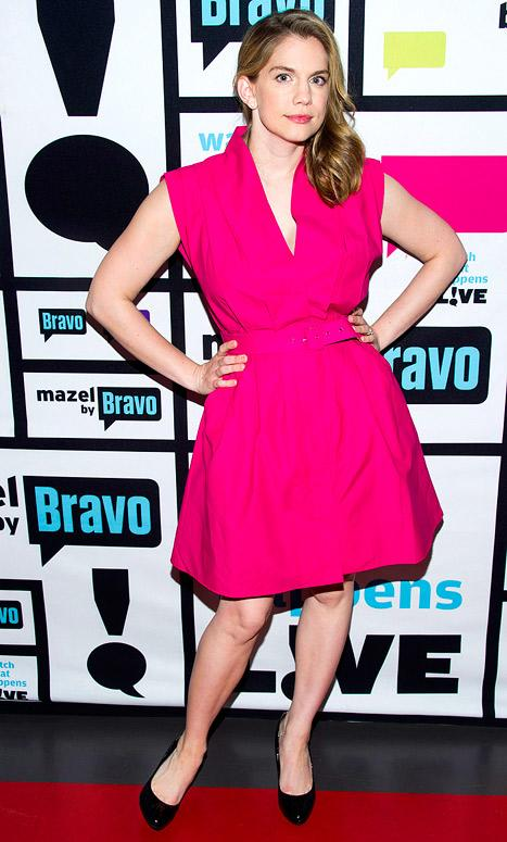 Anna Chlumsky Debuts Skinny Post-Baby Body on Watch What Happens Live