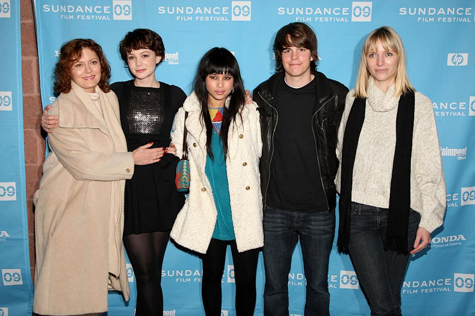 Sundance Film Festival Screenings 2009 Susan Sarandon Carey Mulligan Zoe Kravitz Johnny Simmons Shana Feste
