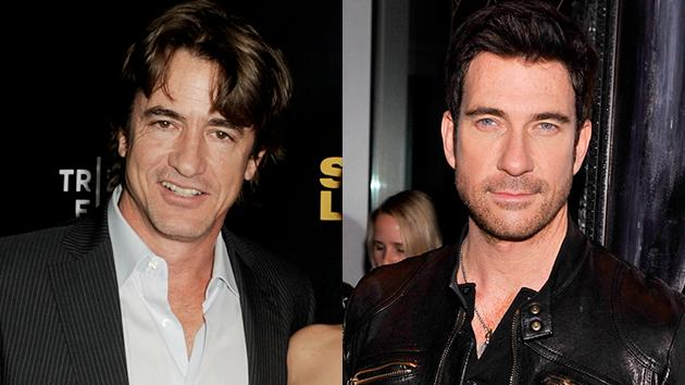 Dermot Mulroney and Dylan McDermott