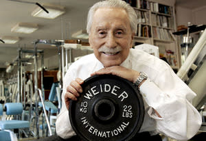 Joe Weider | Photo Credits: Robert Gallbraith/Landov