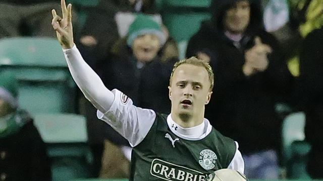 Scottish Premier League - Griffiths treble gives Hibernian win over Kilmarnock