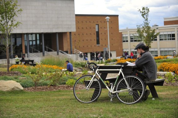 """Université de Sherbrooke ranked 6 out of 215 international universities for its """"green"""" campus.. (Facebook)"""