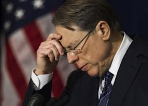 NRA Wayne LaPierre's Tone-Deaf Performance: From a Parallel Universe