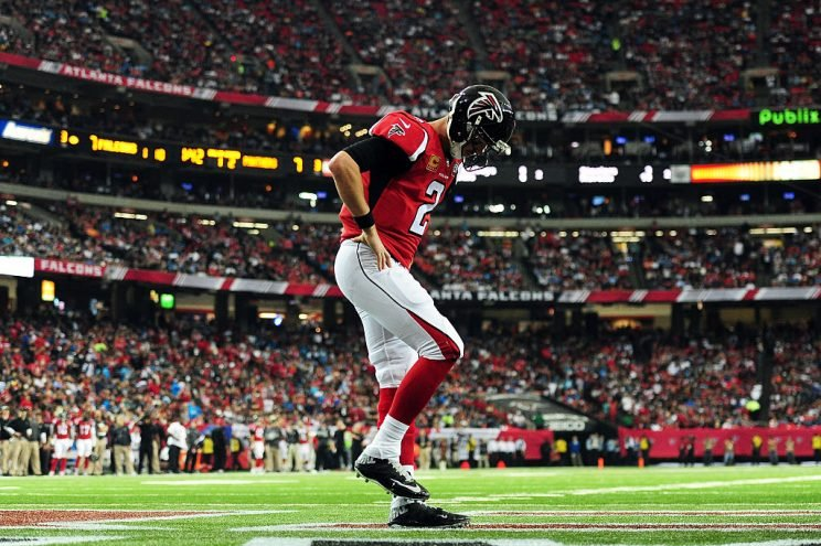 Atlanta needs a better version of Matt Ryan this year if the team is going to escape fantasy (and real-life) mediocrity. (Getty Images)