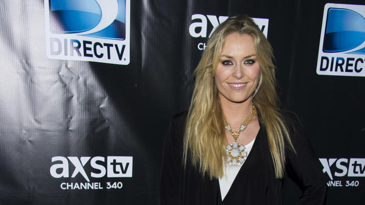 Lindsey Vonn attends DIRECTV's Super Saturday Night Party on Saturday, Feb. 1, 2014 in New York. (Photo by Charles Sykes/Invision/AP)