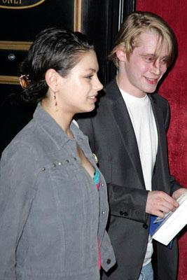 Premiere: Mila Kunis and Macaulay Culkin at the New York screening of Lions Gate Films' Fahrenheit 9/11 - 6/14/2004