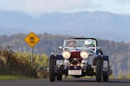 Martin Wilson, 1934 Jaguar SS Special in the 2011 Targa Tasmania Rally
