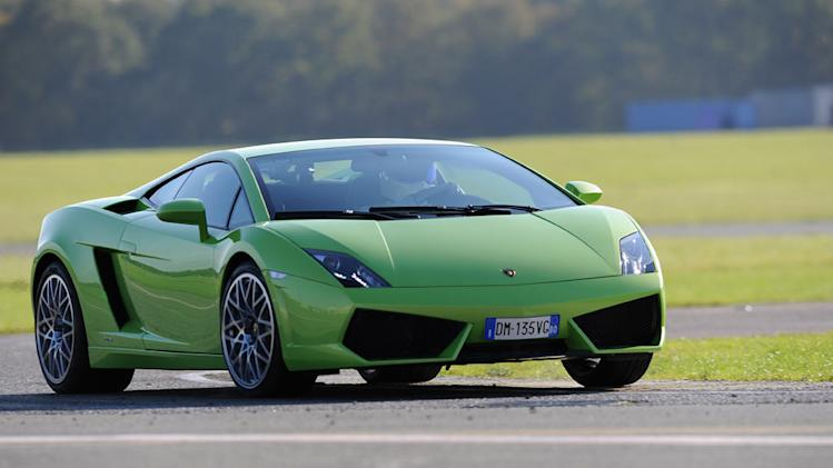 "Lamborghini LP560-4 as seen in ""Top Gear."""