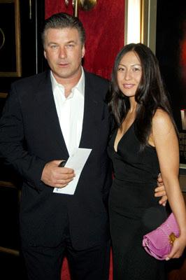 Premiere: Alec Baldwin with Nicole Seidel at the New York premiere of Paramount Pictures' War of the Worlds - 6/23/2005