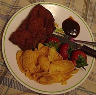 P K's Marinated Steak