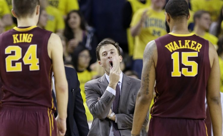 Minnesota's Richard Pitino is among the coaches in the most need of a bounce-back season. (AP)