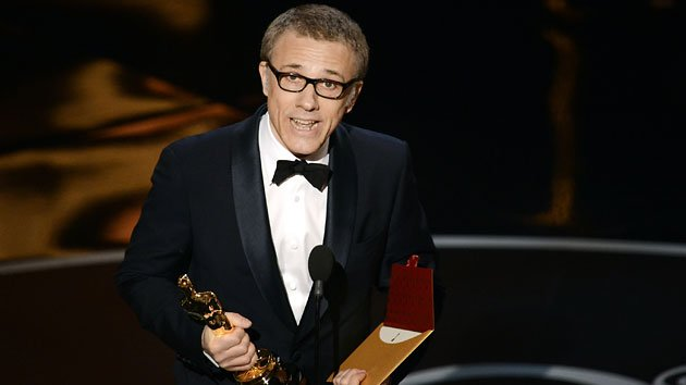Christoph Waltz wins his second Academy Award