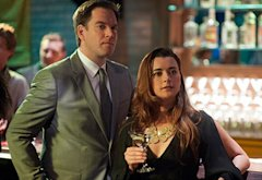 Michael Weatherly, Cote de Pablo | Photo Credits: Richard Foreman/CBS