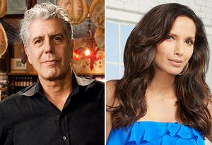 Anthony Bourdain, Padma Lakshmi | Photo Credits: Travel Channel, Bravo
