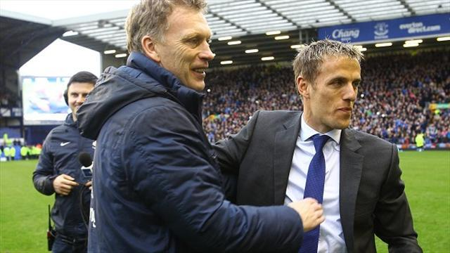 Premier League - Neville 'flattered' to be linked with Everton job