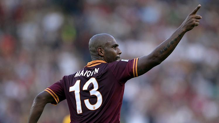 Maicon proud of Roma run