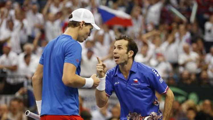 Serbia v Czech Republic - Davis Cup World Group Final: Day Two