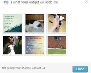 Add An Instagram Widget To Your Blog Without Using A Plugin! image instagram widget script 2