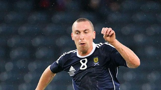Scott Brown was honoured to be England captain