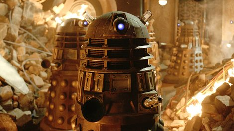 The Daleks are returning in the 50th anniversary episode
