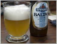 Baltas Wheat beer