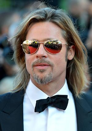 Brad Pitt Wears $1,250 Sunglasses to Cannes!