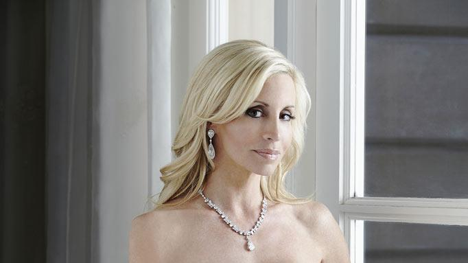 "Camille Grammer in ""The Real Housewives of Beverly Hills."""