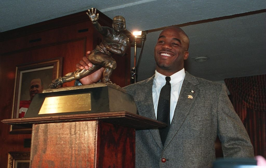 Former Colorado running back Rashaan Salaam was found dead on Monday. (Getty)