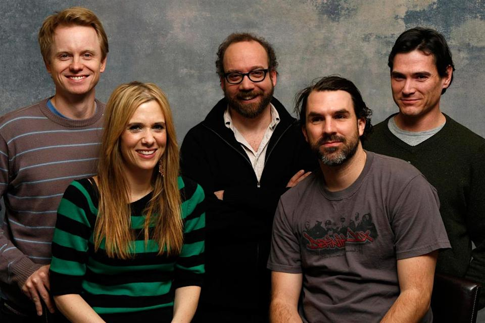 Sundance Portraits 2008 David Hornsby, Kristen Wiig, Paul Giamatti, Paul Schneider and Billy Crudup