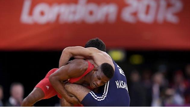 Olympic Games - Second wrestler returns Olympic gold in protest